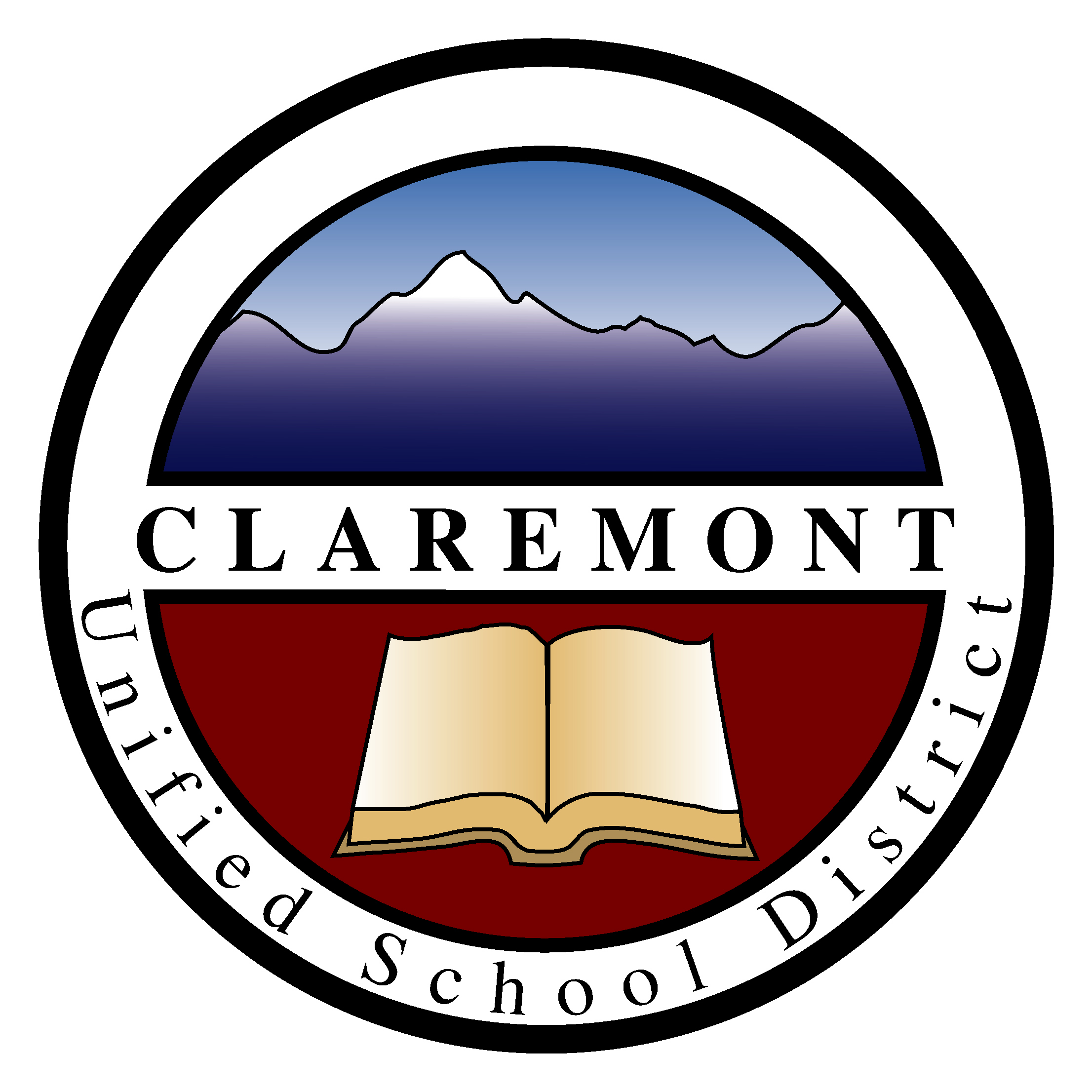 Claremont Unified School District Logo