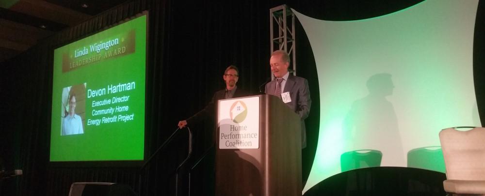 Devon Hartman Wins Linda Wigington 2015 Visionary Leadership Award